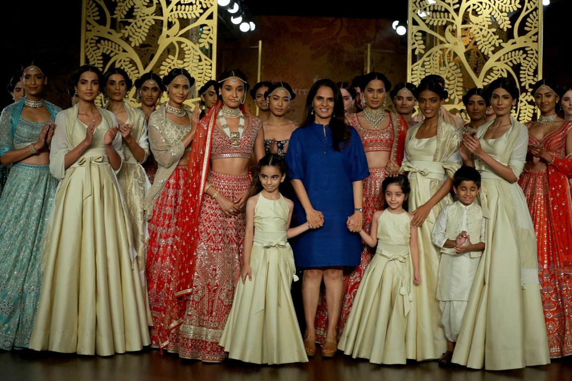 """Anita Dongre showcased """"Tree of Love"""" on Day 6 of ICW \'17 - Wedding ..."""