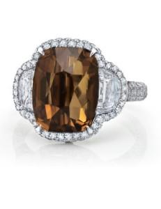 Wedding Affair Brown Ring