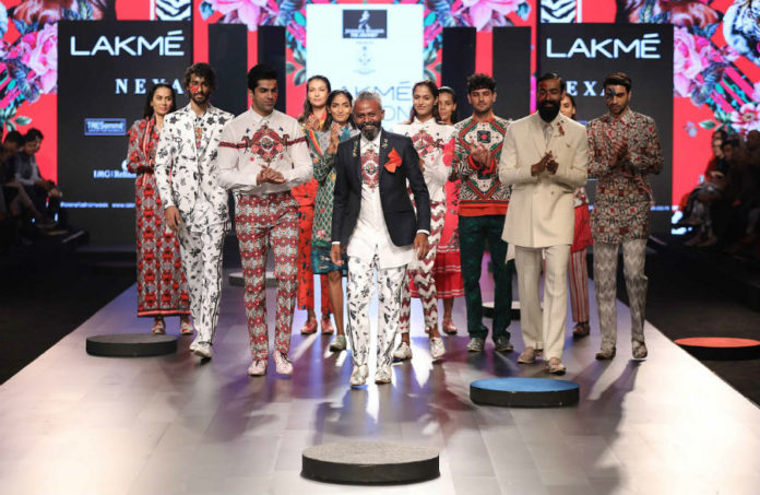 Lakme fashion week- ajay kumar