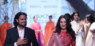 lakme fashion week- shraddha kapoor