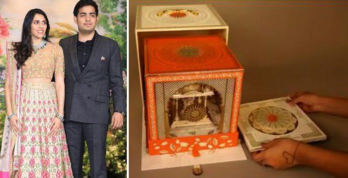 Akash Ambani And Shloka Mehta Serves Up The World S Most Elaborate