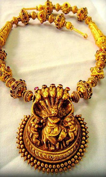 All You Need To Know About Temple Jewellery - Wedding Affair