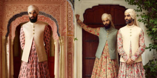 Models In Sabyasachi's Collection