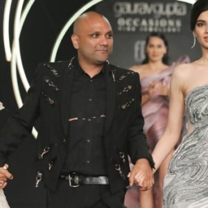 Designer Gaurav Gupta Showcasing collection @ FDCI India Couture Week 2019 (32)