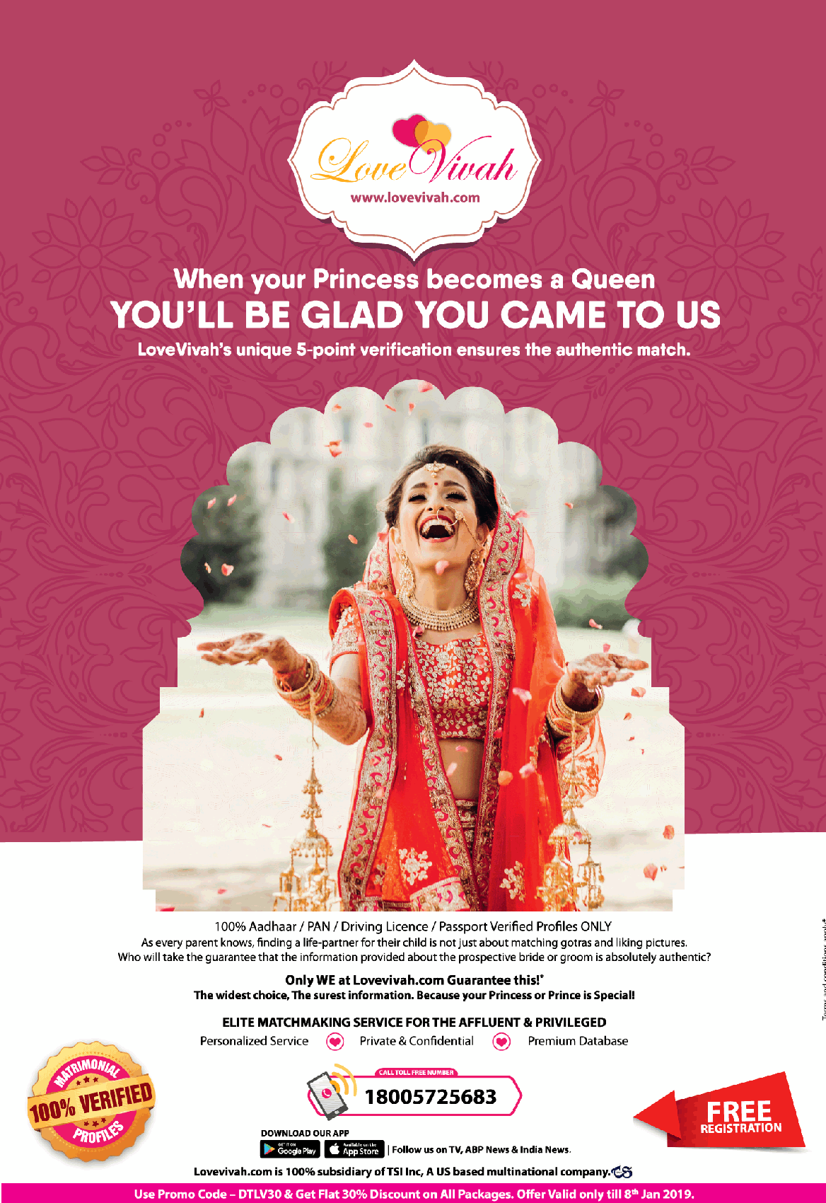 Matches Made In Heaven Meet at LoveVivah - Wedding Affair