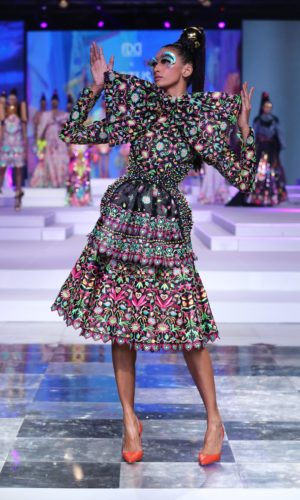Collection by Manish Arora showcased at FDCI LMIFW SS'20 (4)