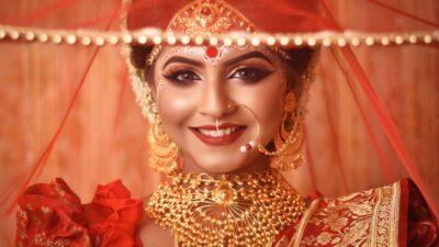 Traditional Bengali Bride